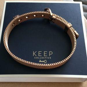 Keep Collective Rose Gold Bracelet